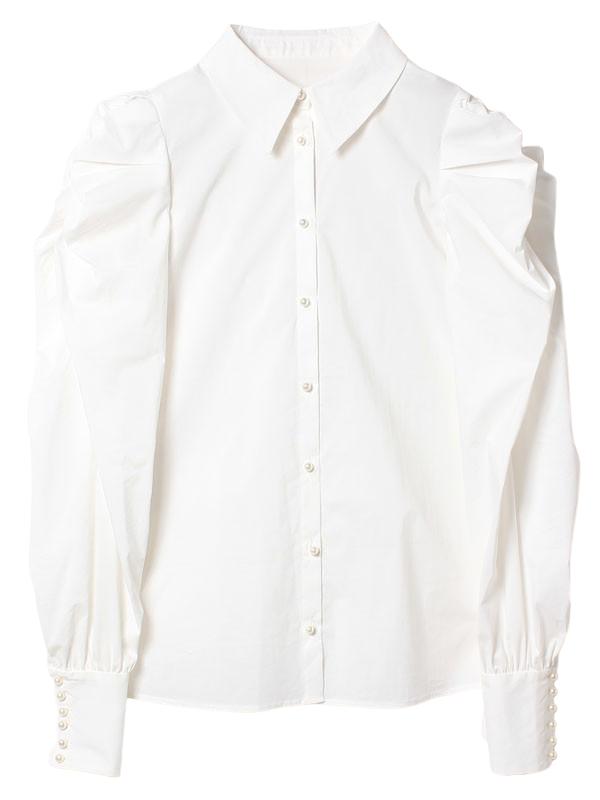 ボリュームパフスリーブシャツ<!--3月発売 0225未発売-->