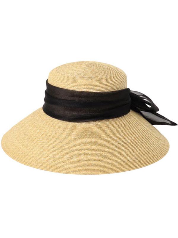 Organdy Ribbon Capellin hat