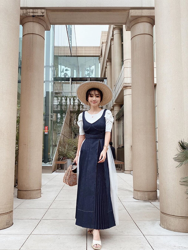 Charme Denim Dress